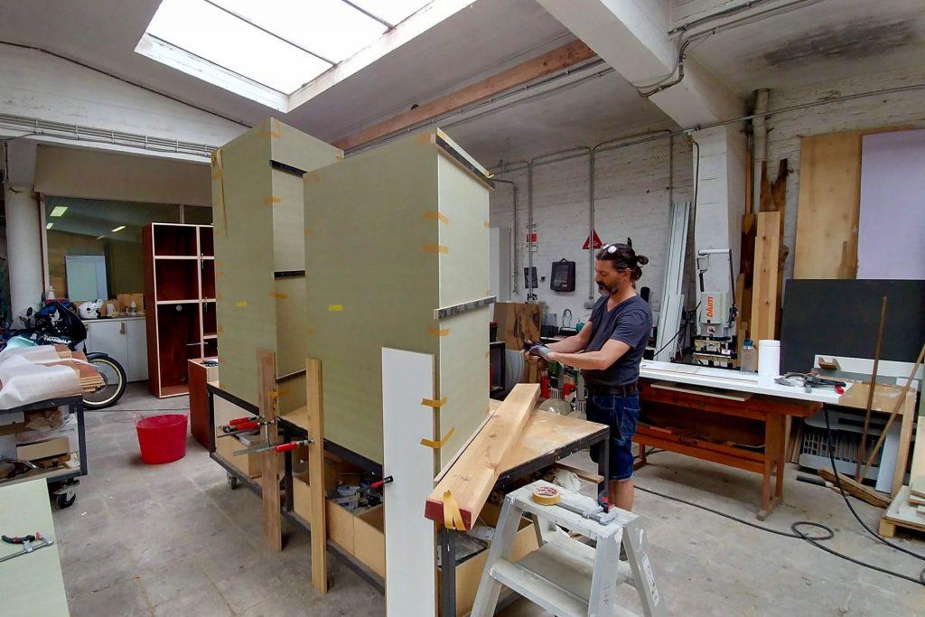 Helix bvba atelierbeeld